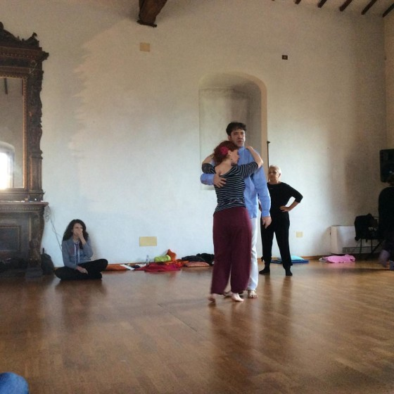 Serena Zampini e Massimo Habib al Festival di TangoOlistico® a Titignano